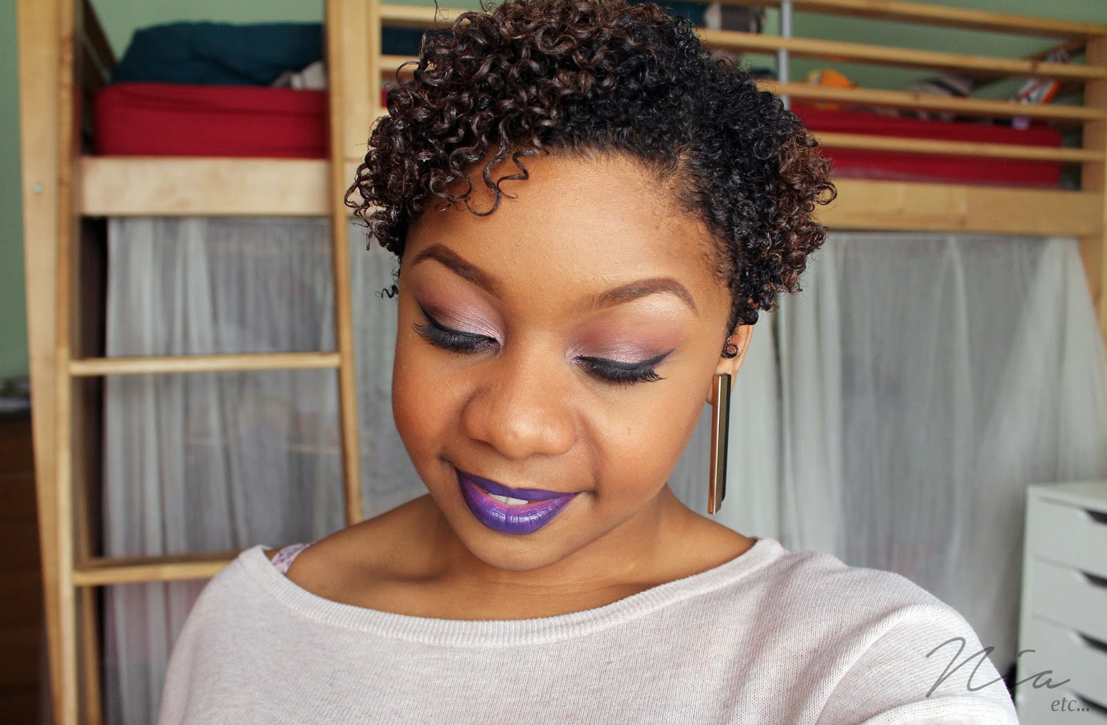 Pretty in Purple Make Up Look 6
