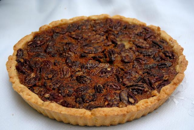 Tarta de Pecanas (Pecan Pie)