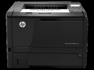 download driver HP LaserJet Pro 400 Printer M401dne