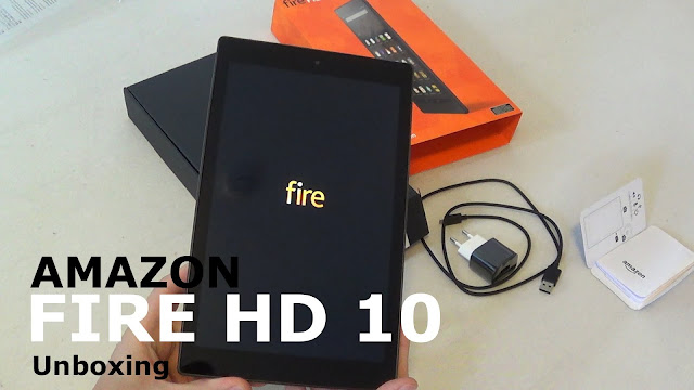 Unboxing Amazon Fire HD 10