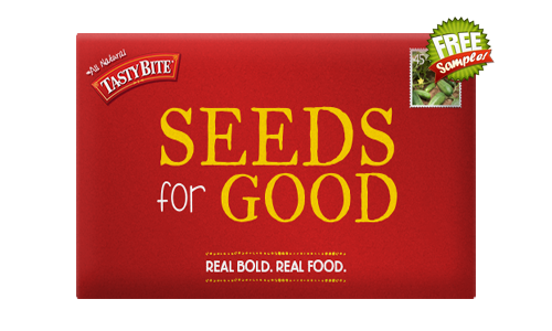 FREE Organic Vegetable Seeds Packet From Tasty Bite, FREE Tasty Bite Seeds For Good, Tasty Bite Seeds For Good
