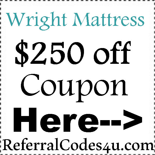 WrightBedding.com Referral Codes 2016-2017, WrightBedding Promo Code August, September, October