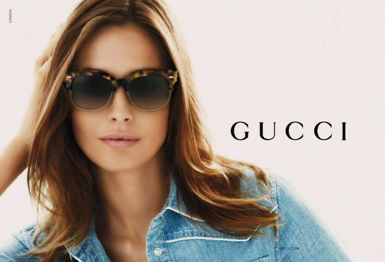 241d1e008ac62 Para algumas mulheres os óculos de sol são que nem sapatos  precisam de  vários. Mais uma nova coleção de óculos de sol da Gucci
