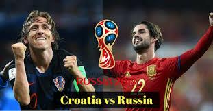 مشاهدة مباراة كرواتيا وروسيا بث مباشر اليوم 7-7-2018 كأس العالم روسيا 2018