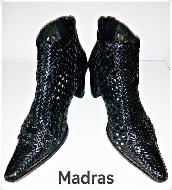 Cod 106, Madras Boots - Piele naturală!