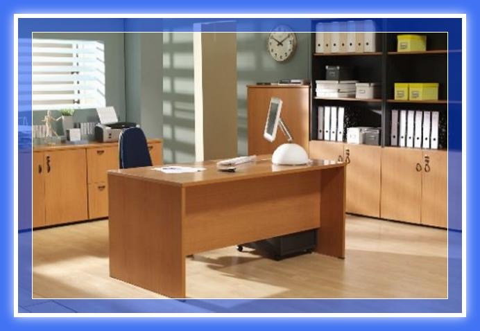 Escritorio pc de melamina madera dise os modernos web Disenos modernos con elementos de madera