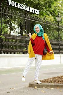 Gaya Hijab Modern Dian Pelangi