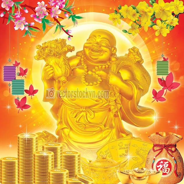 PSD Phật Di Lặc 001