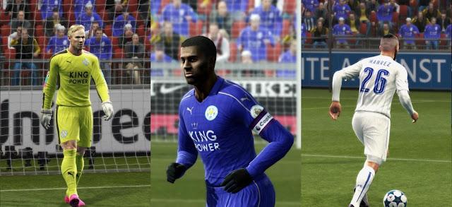 PES 2013 Leicester City Kit Season 2016-2017 Update