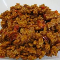 Butterfly, Yogurt, Star, and Mango: Sambal Goreng Tempe