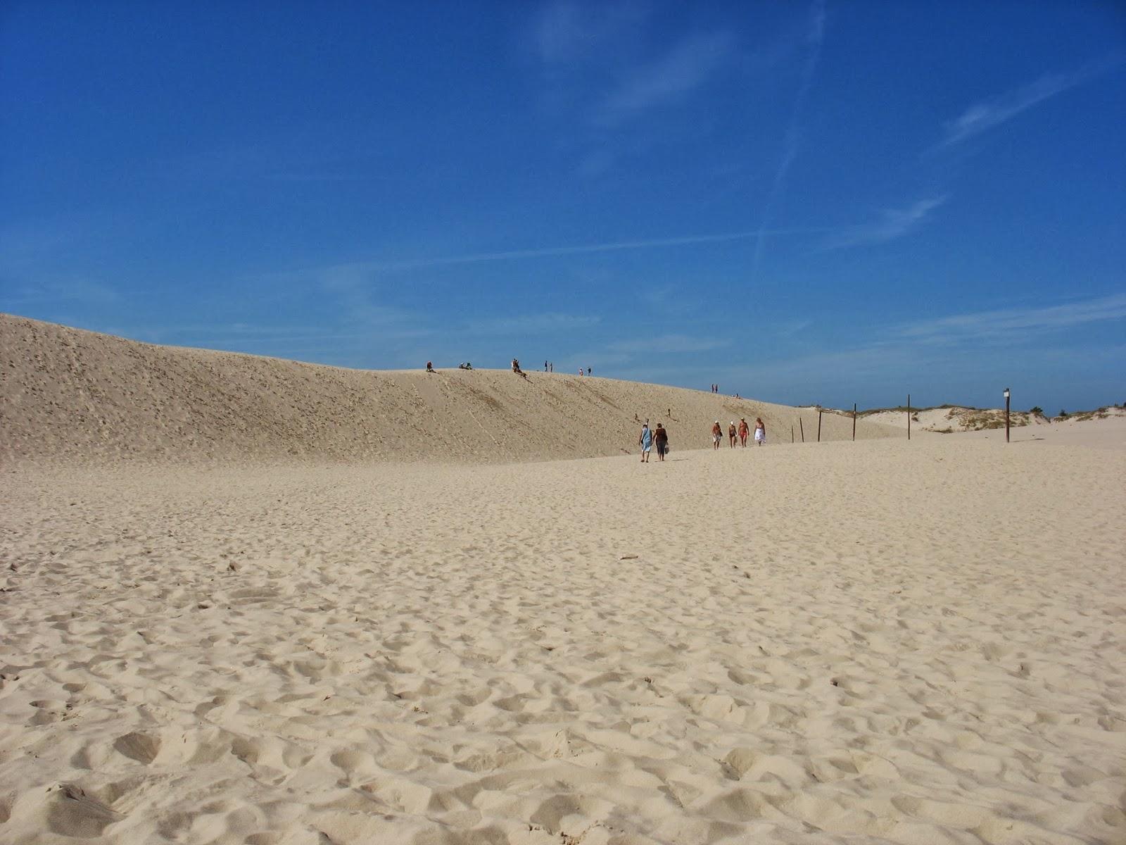 Słowińský národní park písečné duny