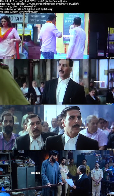 Jolly LLB 2 2017 Hindi DVDScr Audio Cleaned
