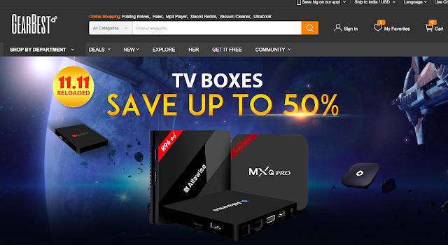 Top 5 TV Box Deals on Gearbest