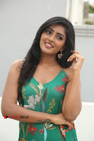 Actress Eesha Latest Pos in Green Floral Jumpsuit at Darshakudu Movie Teaser Launch .COM 0060.JPG
