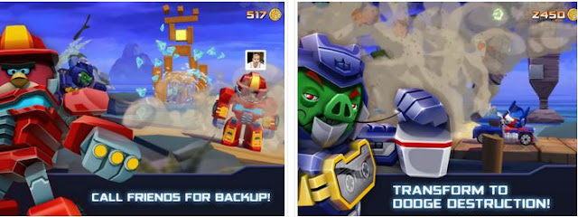 Angry Birds Transformers v1.11.3 Mod Apk+Data
