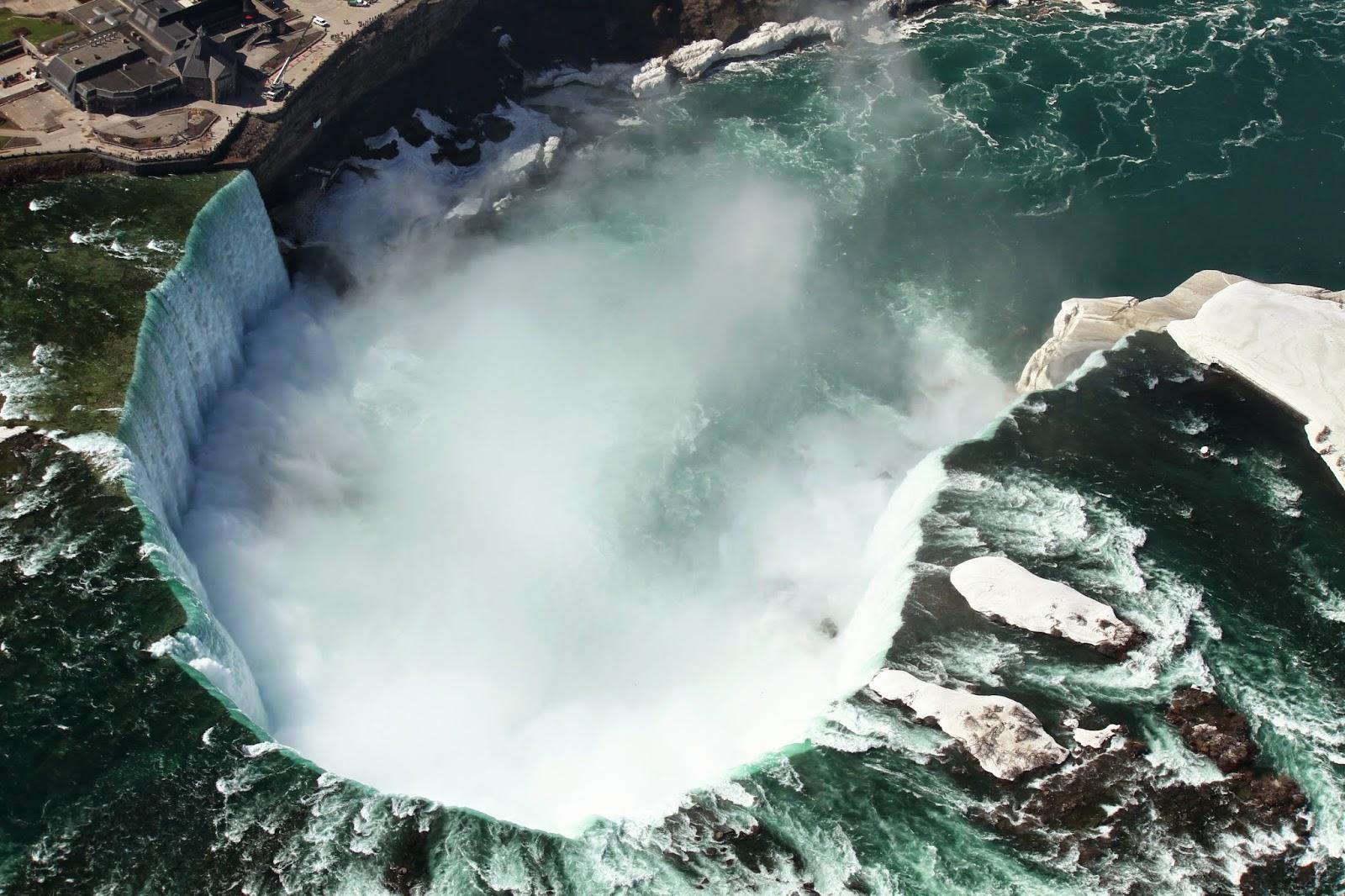 HELICÓPTERO EM NIAGARA - Sobrevoando as Cataratas de Niagara | EUA e Canadá
