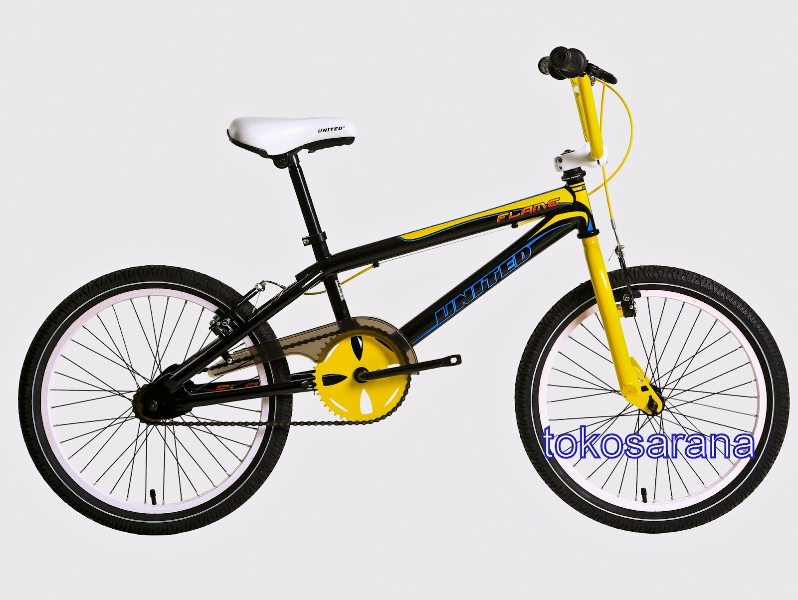 TokosaranaTMJakarta Jatinegara Sepeda BMX UNITED FLAME 20 Inci