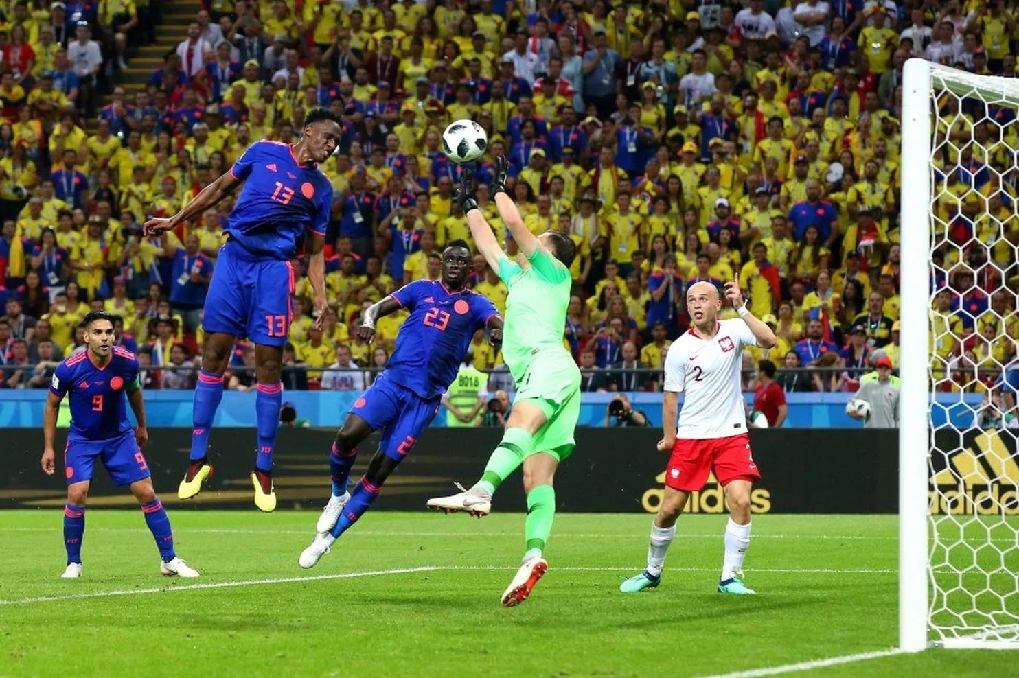 Poland vs. Colombia 2018 World Cup: Colombia eliminates Poland, 3-0, in dominant performance