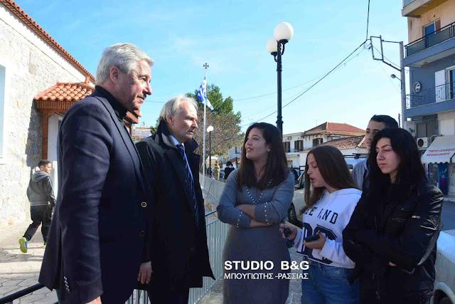 Αντιπροσωπία μαθητών του υπό κατάληψη Λυκείου Ερμιόνης ενημέρωσαν Ανδριανό και Μανιάτη