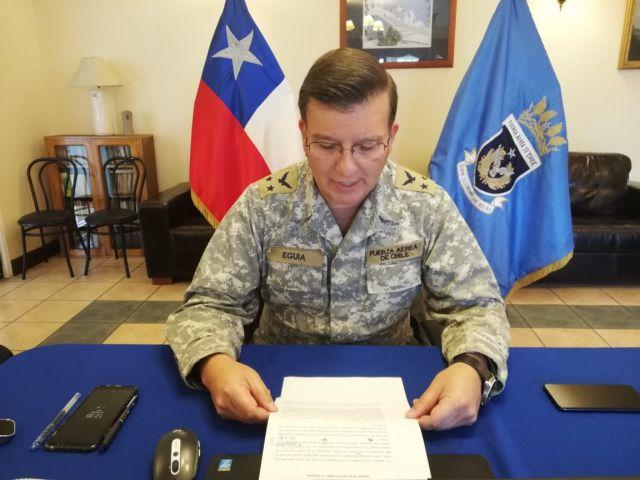 General de Brigada Aérea (A) Cristián Eguía Calvo