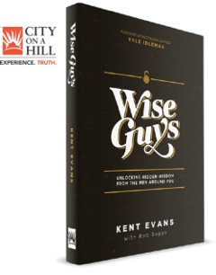 Mentorship is vital. Wise Guys by Kent Evans is a book about mentorship for men. #mentorship #wiseguys #flyby #giveaway