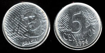 Brazil 5 Centavos (1994-1997)