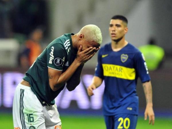 Palmeiras sai atrás, vira, mas sofre empate e cai na semi contra o Boca