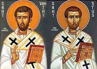 Saint Timothy and Saint Titus