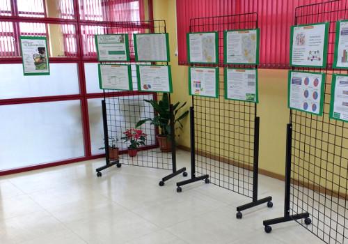 Exposición del Informe en la biblioteca Manuel Vázquez Montalbán