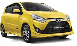 Toyota Agya Warna Yellow