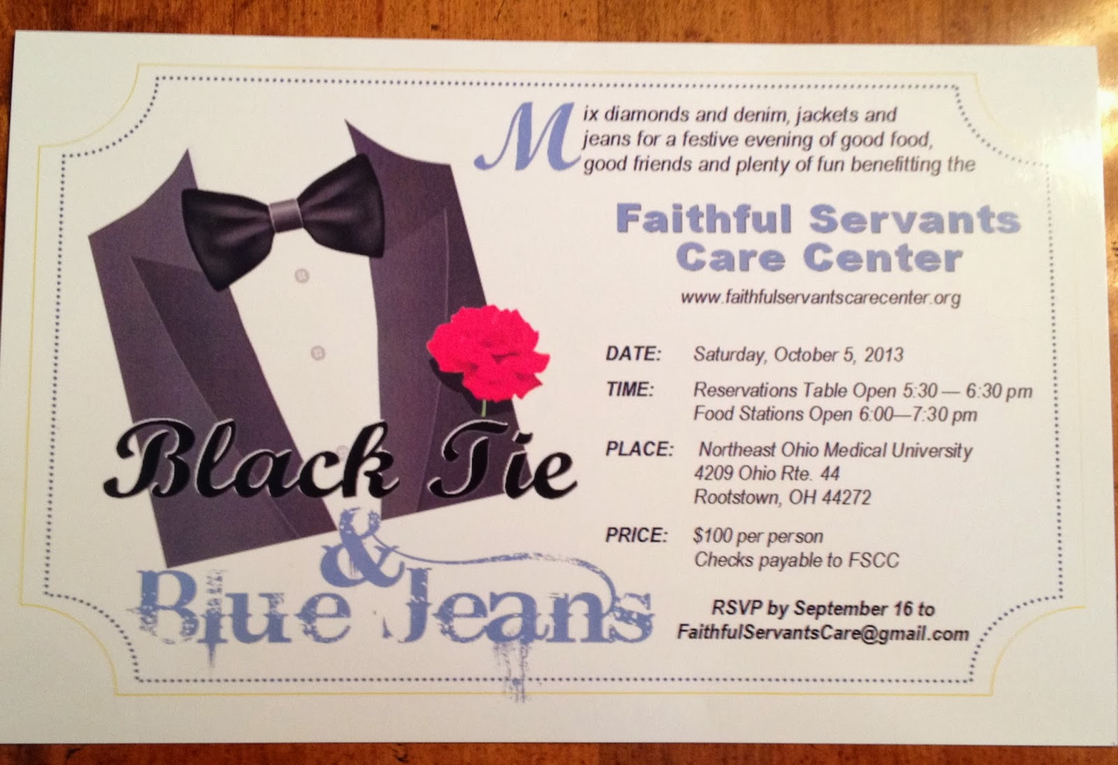 Black And Tie Jeans Blue Logo
