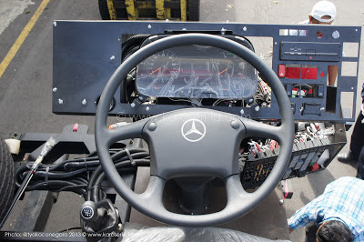 MERCEDES BENZ CHASSIS OH 1836