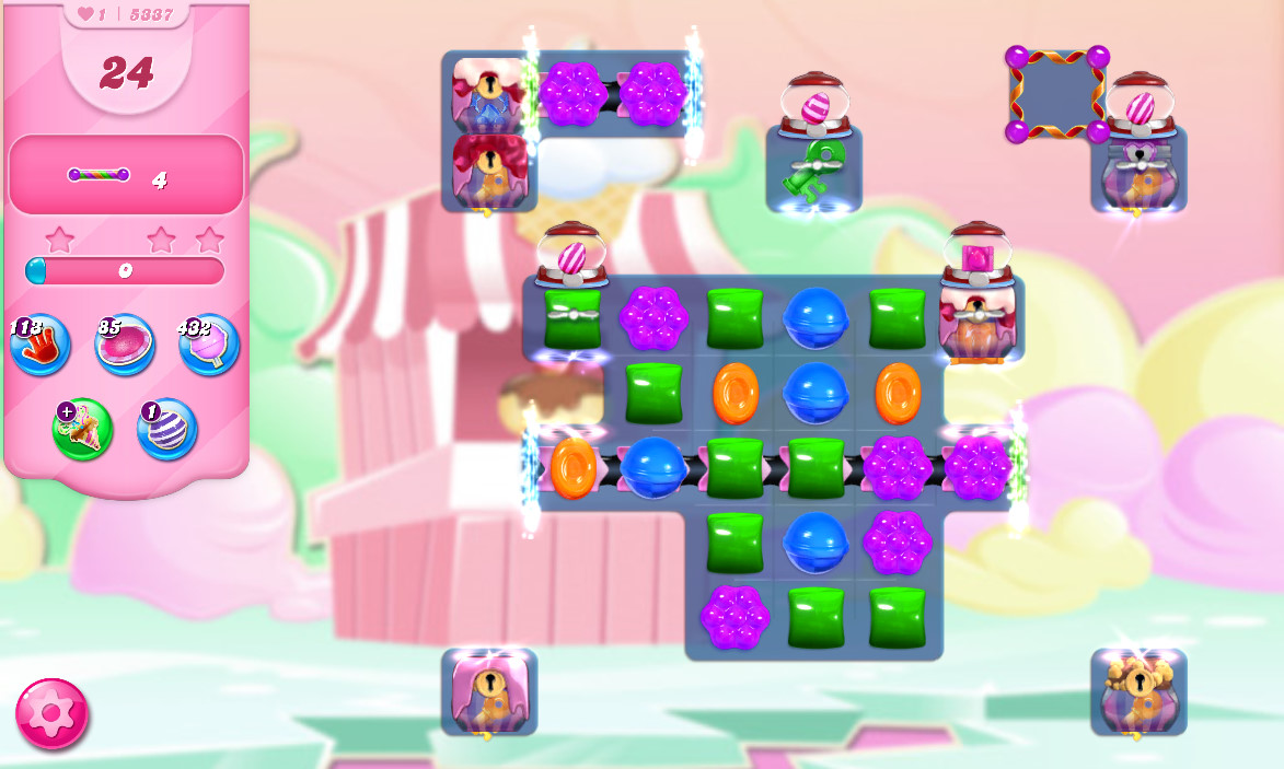 Candy Crush Saga level 5337