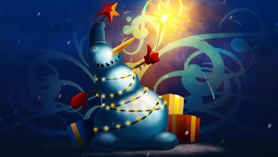 download besplatne Božićne pozadine za desktop 2560x1440 čestitke blagdani Merry Christmas svjećice za bor prskalice
