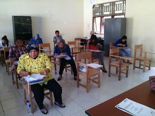 peserta UN Paket C Boltim