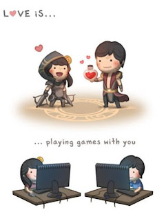 love is playing games with you
