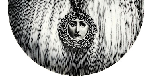 Whimsy Wednesday: Fornasetti's witty figurative ceramic pieces
