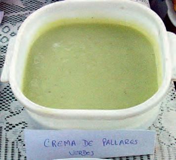 Crema de Pallares Verdes