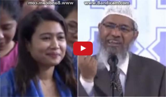 Telak! Zakir Naik: Gubernur non Muslim Bangun Masjid, tapi dia tidak Sholat, Itu Munafik!