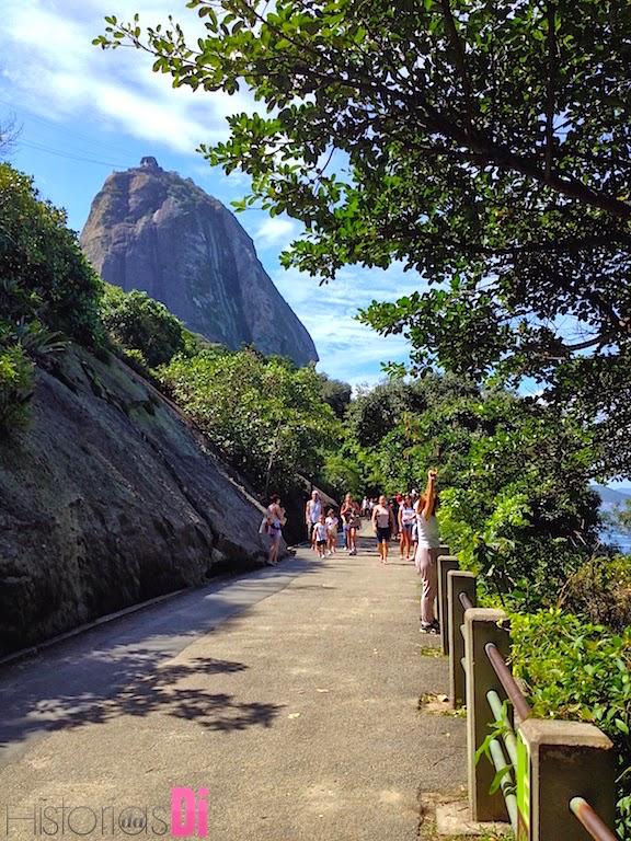Pista Cláudio Coutinho -  área de caminhadas e corridas