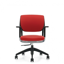 Modern Office Chair In Red