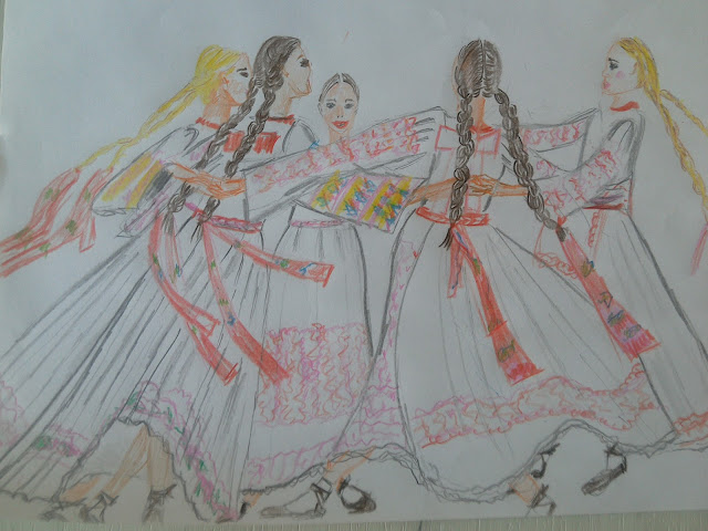 #illustration #folkloredress