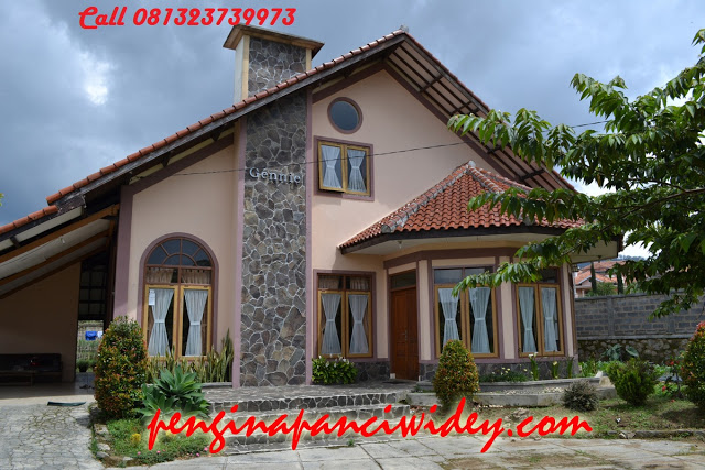 Booking villa di area wisata kawah putih dari subang