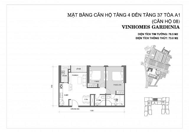 08 - Tòa A1 Vinhomes Gardenia