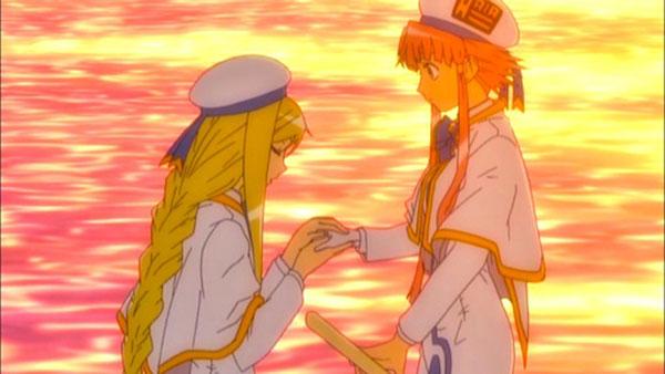 Anime Aria - Anime rileks - Akari Prima undine