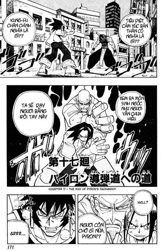 Shaman King [Vua pháp thuật] chap 17 trang 2