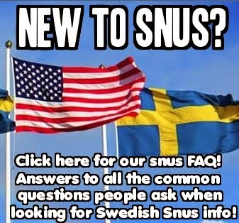 New to Snus