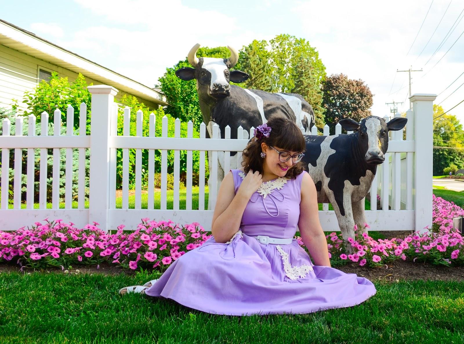 In a Nutshell   : Farm Fantasia (Tatyana Wisteria Dress)
