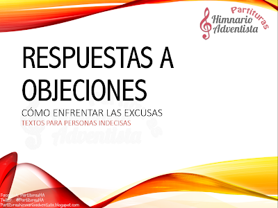 Respuestas a objecciones-estudio-partituras-himnario-adventista