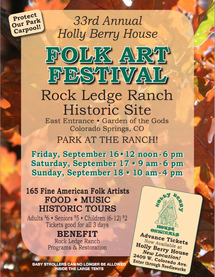 Rock Ledge Ranch Craft Show